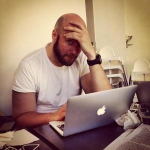 Fredrik Wass är den som har dragit igång #blogg100