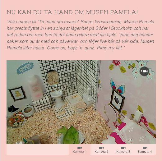 Sanas Facebookkampanj Ta hand om musen